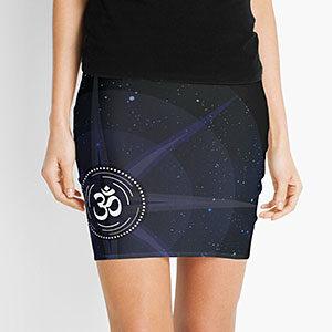 Om Mini Skirt