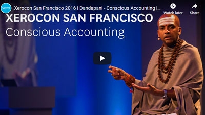 Former Monk Dandapani: Conscious Accounting